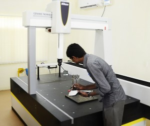 ALTERA CMM used for inspection of heavy truck component