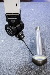 Renishaw REVO probe enables high speed 3D measurement