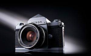 Nikon turns 100 - Nikon F - 1959 - Nikon's first lens interchangeable SLR camera and first model featuring F-mount.