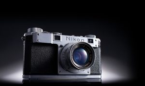 Nikon turns 100 - Nikon Model I - 1948 - The first camera marketed under the name Nikon.
