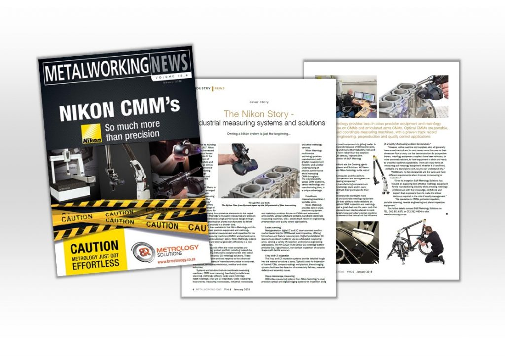 Metalworking News Magazine: Nikon Metrology story