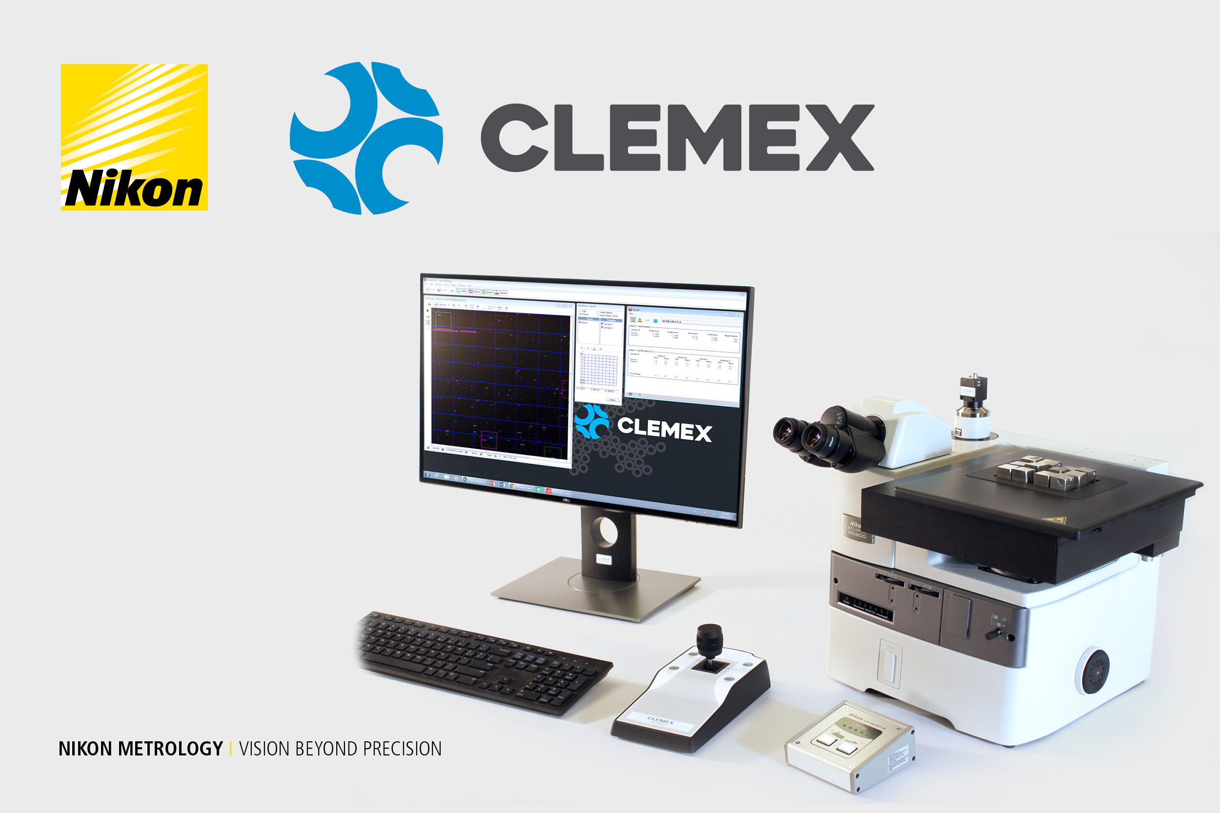CLEMEX image analysis on NIKON microscopes | Feb 8th 2018 - 15:00 CET | 09:30 EST