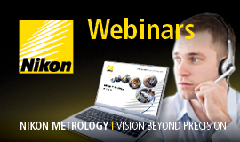Nikon Metrology webinars