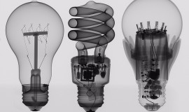 World Radiography Day - Light bulbs
