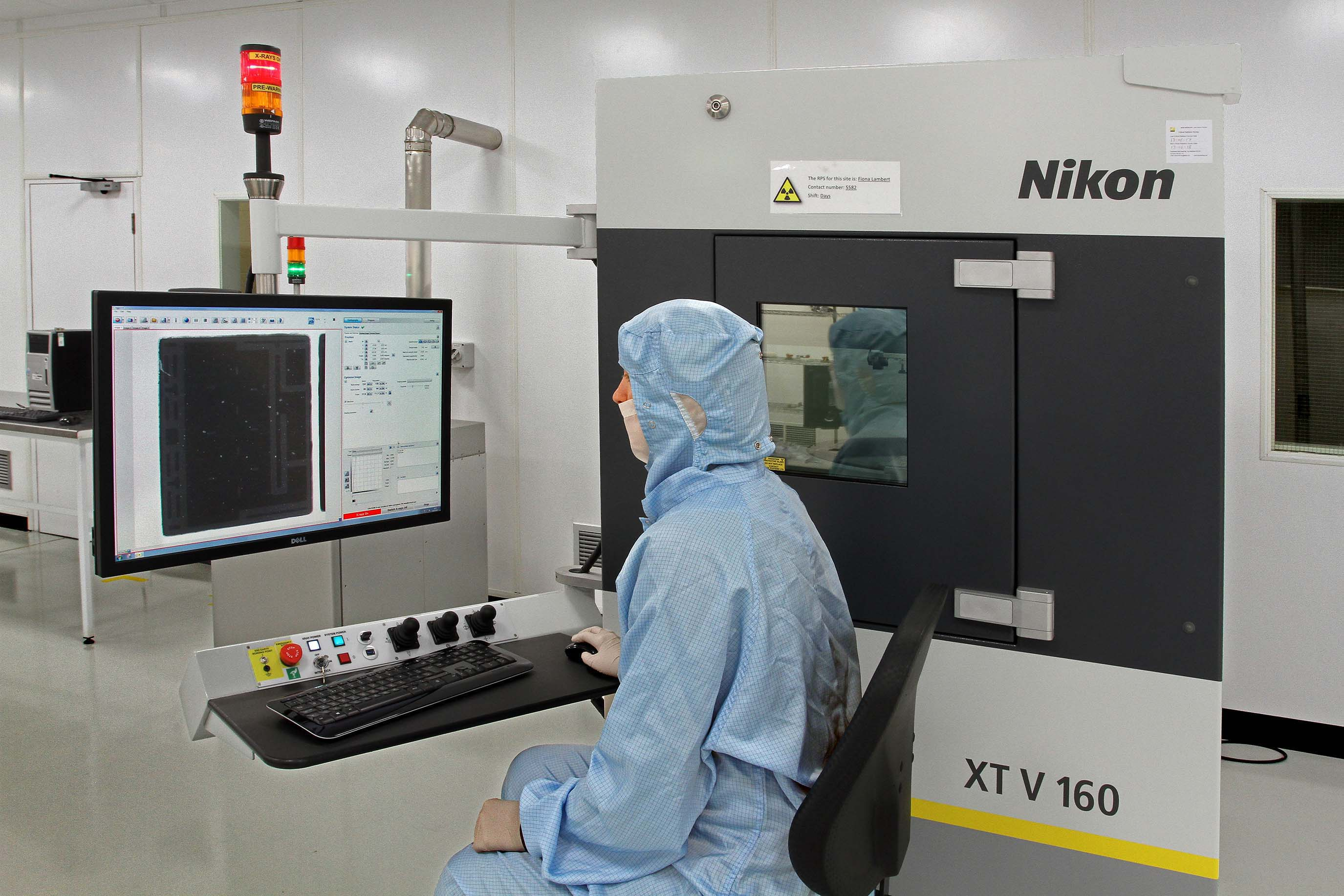 Nikon Metrology Delivers 1 000th 160 Kv X Ray Source