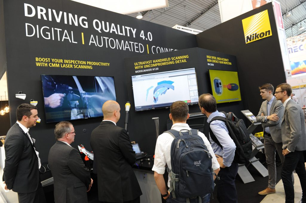 Experience an interactive demonstration at Nikon Metrology events.